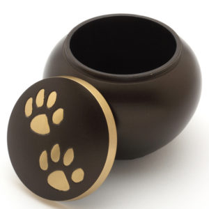 The Chertsey Brown Pet Cremation Urn
