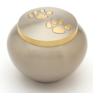 The Chertsey Pewter Pet Cremation Urn