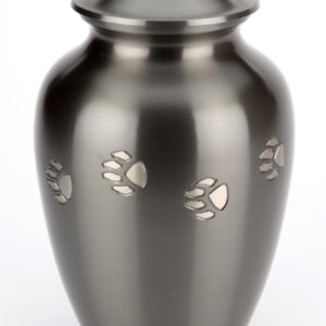 The Jarrow Black Pewter Pet Urn