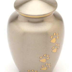 The Matlock Pewter Pet Urn