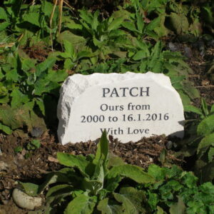 garden stone pet memorial limestone