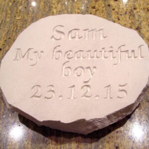 limestone oval pet memorial sam