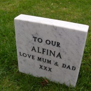marble tablet pet memorial