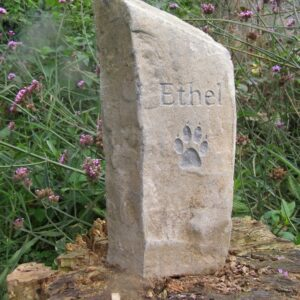 pet memorial basaltic column ethe