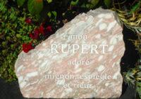 Rose Marble Boulder