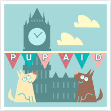 Pup Aid logo for pet memorials home page. Click to find out more and donate to their cause