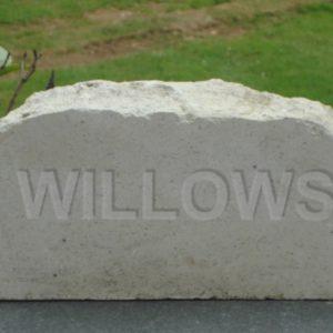 house sign boulder